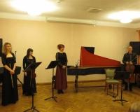 Mari-Liis Vihermäe (flööt), Helen Västrik (viiul), Ene Nael (klavessiin) ja Villu Vihermäe (tšello)