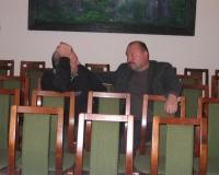 Külalised Villu Kinks ja Uno Kaldmäe