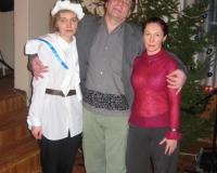 Õpetajad Erene, Kalmer ja Oksana