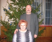 Lapsevanem Uno Kaldmäe koos Marika Klimberg-Hyötyläisega