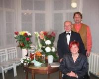 Kolm novembri alguse sünnipäevalast: Kaja Puna, Karl Songi ning Kalmer Mosen