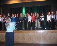 Laulustuudio vanem rühm M.Linnu juhendamisel
