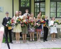 Lõpetajad ( vasakult teine Kadiliis Rämmann)
