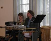 Õpetajad Margot Suur ja Kalmer Mosen