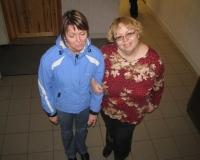 Jaana Višnakova ja Marika Klimberg-H