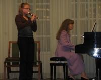 Meelika Kustavus (plokkflööt) ja Erene Petrova