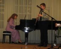Kert Kask (klarnet) ja Erene Petrova
