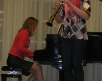 Liina Kuusik (klarnet) ja Martina Võrk
