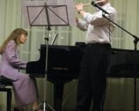 Anton Kogan (flööt) ja Erene Petrova