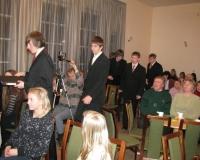 Esinema lähevad Kreutzwaldi Gümnaasiumi noormehed