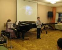 Steven-Marten Suur (klarnet) ja Erene Petrova (klaver)