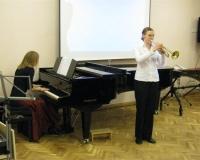 Riina Reismaa (trompet) ja Martina Võrk