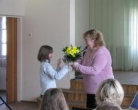 Hedvigi õnnitlemine muusikakoolis