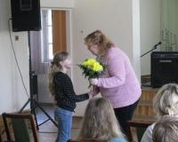 Kadi õnnitlemine muusikakoolis