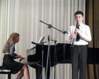 Klarnetil Kert Kask, klaveril Erene Petrova