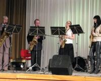Saksofonikvartett A.Paasik, A.Kogan, M.Oja ja K.Kaldmäe