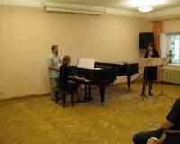 Helena Tuuling, klaveril Martina Võrk