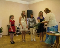 Tublide laste õnnitlemine