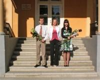 Martina Võrk koos oma õpilastega