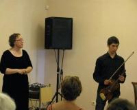 Külalisesinejad Diana Liiv ja Lev Bogino