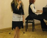 Kristina Bianca Rantala koos õpetaja Margot Suurega