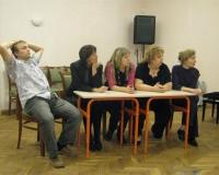 Andres Alaru, Marge Lusbo, Margit Lind, Marika Klimberg-H ja Erene Petrova