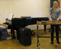 Triinu Ruuspõld (ksülofon) ja Martina Võrk