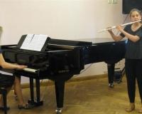 Anna-Leena Rämson (flööt) ja Martina Võrk (klaver)