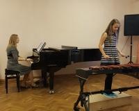 Kontsertmeister Martina Võrk ja Marleen Möller