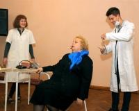 Õpetajad arsti juures.