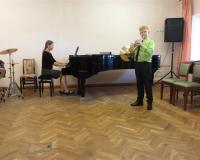 Jakob Täht (metsasarv) ja Eva Saar (klaver)