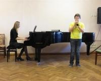 Angelo Raoul Lombardo (kornet) ja õp. Martina Võrk (klaver)