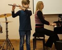 Kristjan Tagel ja klaveril õp Martina Võrk