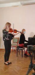 Cordelia Liiv ja kontsertmeister Martina Liiver