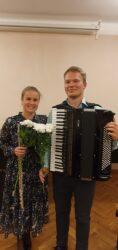 Duo Hoog - Liina Fidelman (flööt) ja Mikk Langeproon (akordion)